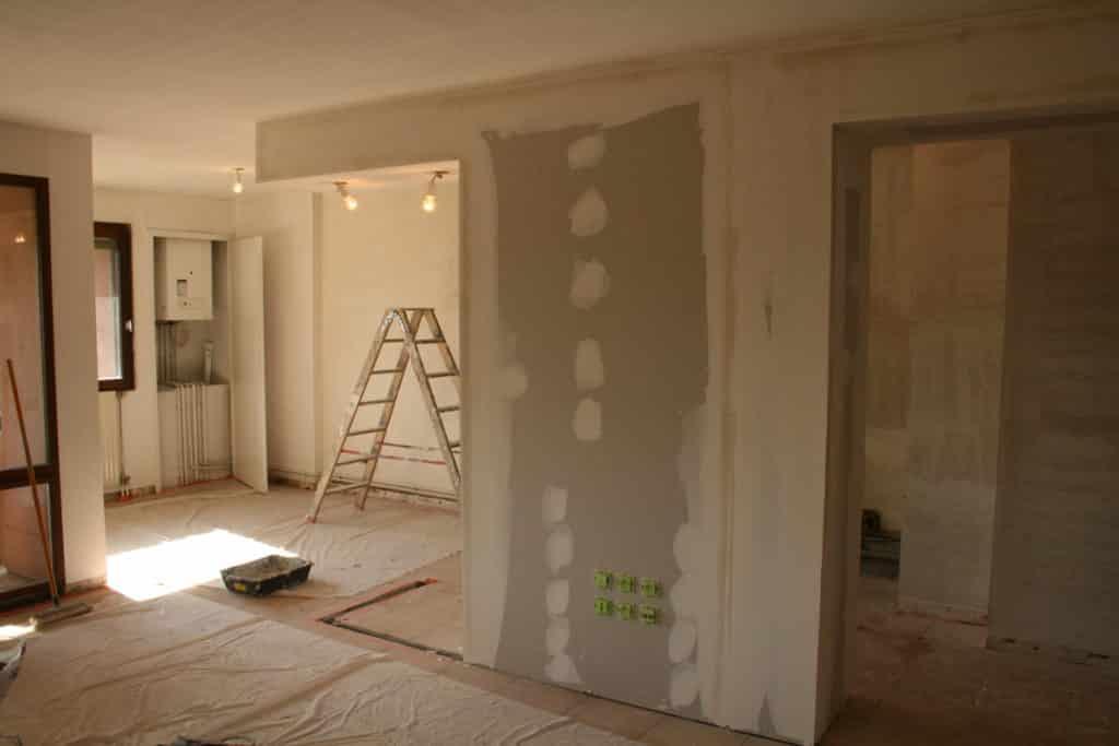 Maison en rénovation.
